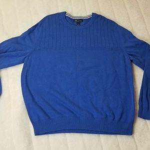 John Ashford blue mens sweater